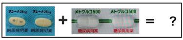 イニシンク配合錠〜ネシーナとメトグルコの配合剤