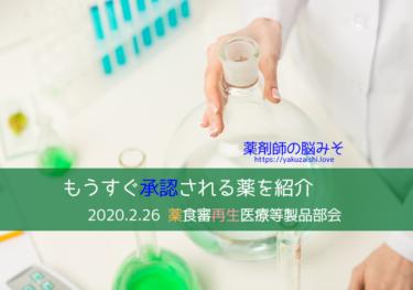 薬食審・再生医療等製品部会 ゾルゲンスマとネピック 20200226